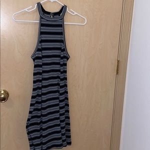 Stripe dress (Hollister)